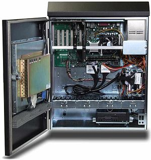 Industrial PC - Wall-mounted industrial PC based on ATX motherboard