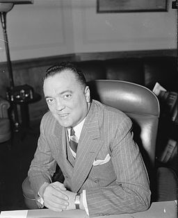 Informal J. Edgar Hoover Smile 1940