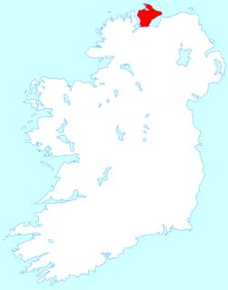 Inishowen peninsula in Ireland