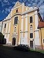 Inner City Franciscan Church facade, 2016 Esztergom.jpg
