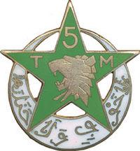 Image illustrative de l'article 5e régiment de tirailleurs marocains