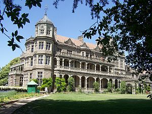 Indian Institute of Advanced Study - The building is designed in Indo-Gothic style.