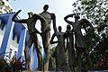 Integrity - Fibreglass Sculpture by Debabrata Chakraborty - Jadavpur University - Kolkata 2015-01-08 2417.JPG
