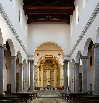 Sant'Anselmo all'Aventino - The church of Sant' Anselmo