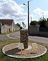 Intréville hommage au clairon de l'armistice 1918 Eure-et-Loir France.jpg
