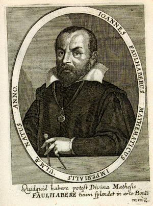 Johann Faulhaber - Ioannes Faulhaberus Mathematicus Imperialis Ulmæ Natus