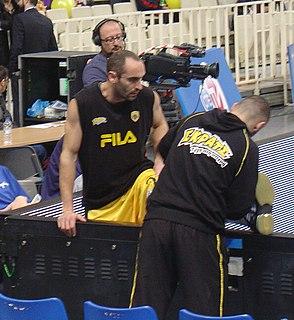 Giannis Kalampokis Greek professional basketball player