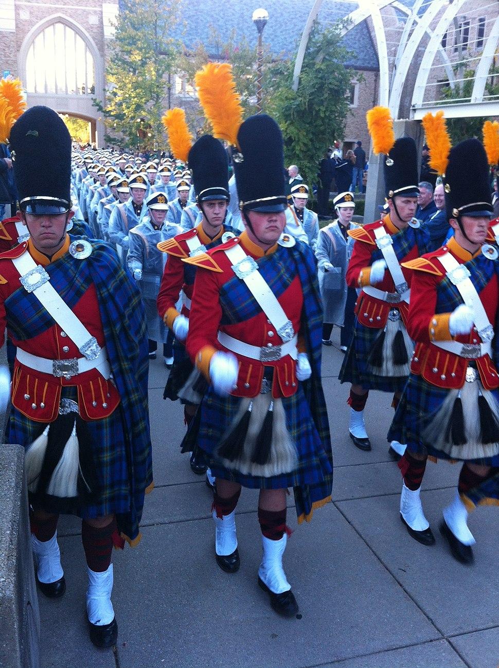 Irish Guard with Band ND