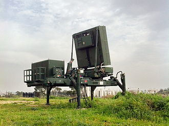 Iron Dome - The EL/M-2084 active electronically scanned array scaled down derivative radar of the Iron Dome