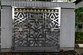 Islamic geometric patterns are used throughout Masjid Negara (18793209479).jpg