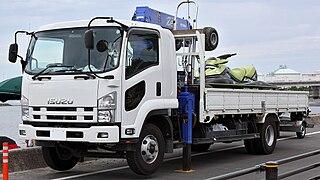 Isuzu Forward Line of medium-duty commercial vehicles manufactured by Isuzu