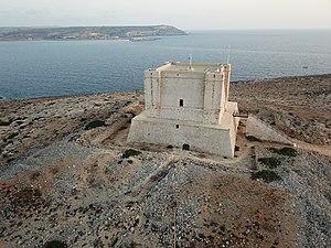 Saint Mary's Tower - Image: It Torri ta Santa Marija