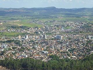 Itabira Municipality in Southeast, Brazil