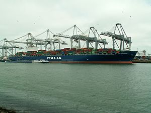 Ital Contessa, at the Amazone harbour, Port of Rotterdam, Holland 09-Apr-2006.jpg