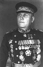 Il maresciallo Ivan Konev, il primo comandante supremo del Patto di Varsavia.