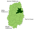 Iwaizumi in Iwate Prefecture.png