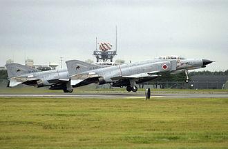 8th Tactical Fighter Squadron (JASDF) - Image: JASDF F 4 Phantoms