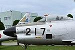 JASDF F-86D(14-8217) forward fuselage section left side view at Komatsu Air Base September 17, 2018.jpg
