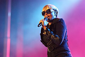 English: MARY j bLige