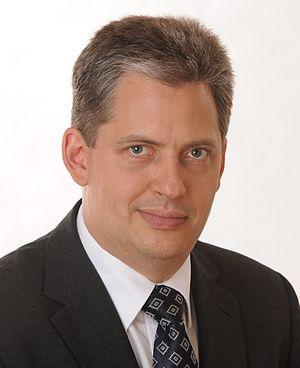 Jiří Dienstbier Jr. - Image: JIRI Dienstbier mladsi cropped