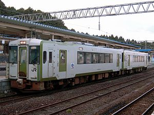 KiHa 100 series - Ominato Line KiHa 100-200 series in December 2010