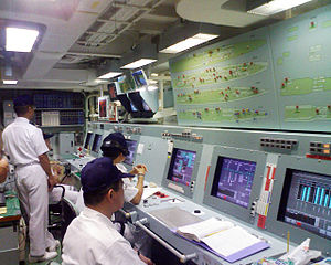 JS Tenryū's machinery control room, -20 Jul. 2008 b.jpg