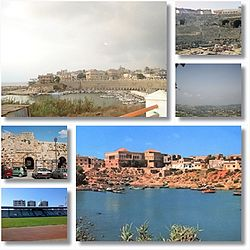 A collage of Jableh.
