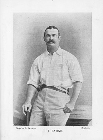Jack Lyons (cricketer) - Jack Lyons