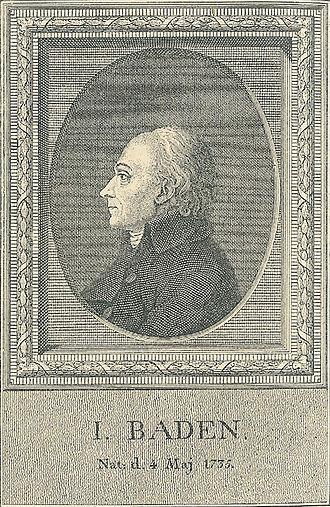 Jacob Baden - Jacob Baden, from  P. Hansens Illustreret Dansk Litteraturhistorie