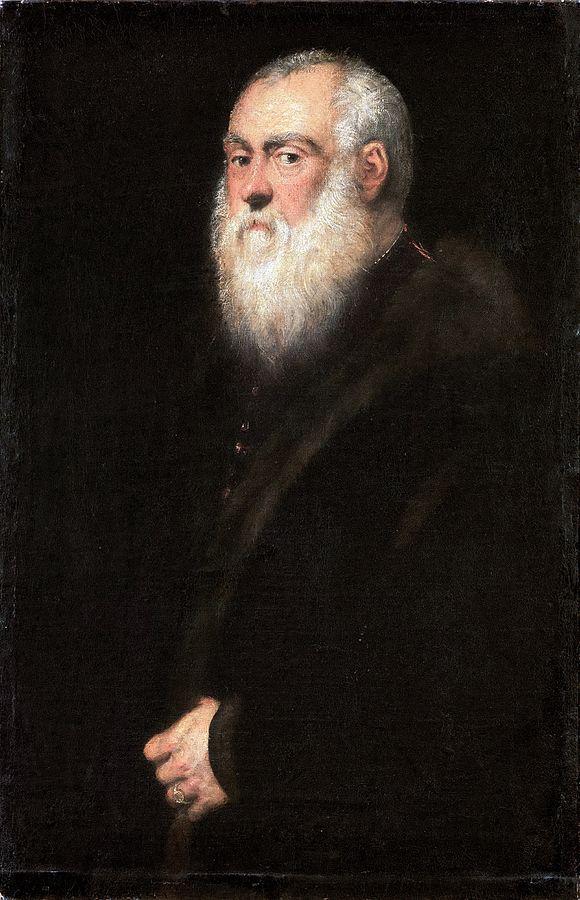 Portrait of a White-Bearded Man