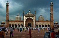 Jamia Masjid is the largest Mosque of India