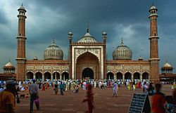 Jama Masjid is the largest Mosque of India
