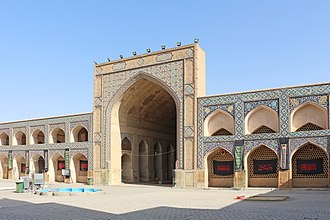 Jameh Mosque of Isfahan - Image: Jameh Mosque of Isfahan Northern Iwan