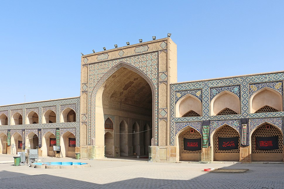 Jameh Mosque of Isfahan - Northern Iwan