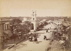 Mahatma Gandhi Road (Secunderabad) - James street circa 1880