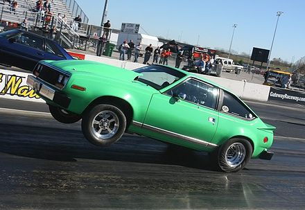 James Landis Drag Race 1980 Spirit AMX - AMC Spirit