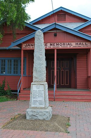 Jandowae - Jandowae War Memorial, 2008