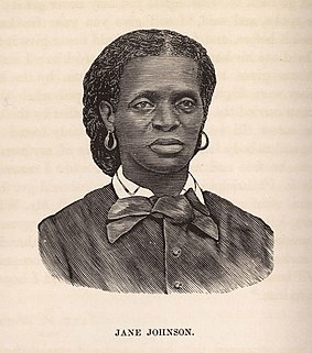Jane Johnson (slave) American slave