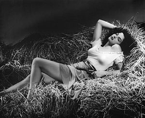 Jane Russell - Russell in The Outlaw (1943)