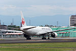 Japan Airlines, B777-200, JA772J (18478846030).jpg
