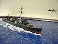 Japanese destroyer Harusame scale model.jpg