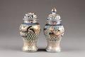 Japanska urnor från 1700-talet med fågel Fenix - Hallwylska museet - 96004.tif