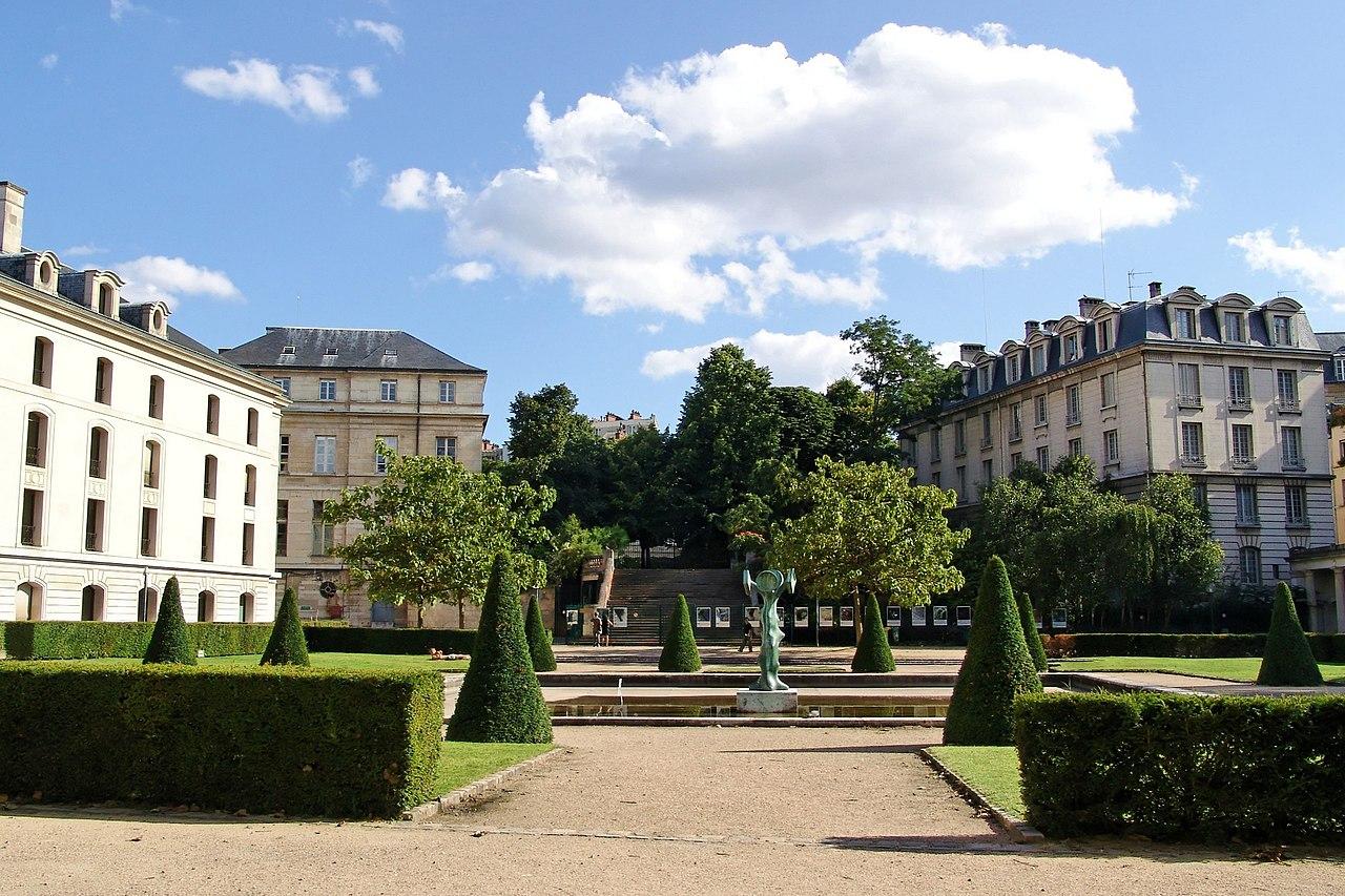 Table De Jardin Aluminium Discount : FileJardin de lancienne école polytechnique de Paris (Paris 5 ième