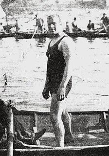 John Arthur Jarvis British swimmer