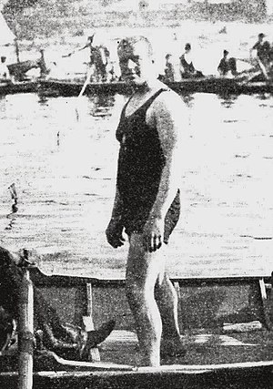 Water polo at the 1900 Summer Olympics - John Arthur Jarvis is listed on a roster contemporary to the Games as having competed for the Osborne Swimming Club.