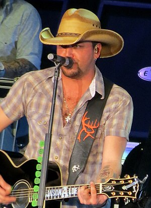 Jason Aldean - Aldean on his Night Train Tour in 2014