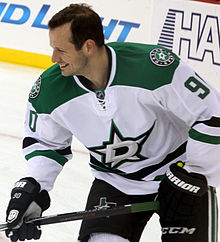 Jason Spezza v dresu Dallas Stars