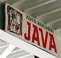 Java Koffie Margarine, Emaille reclamebord.JPG
