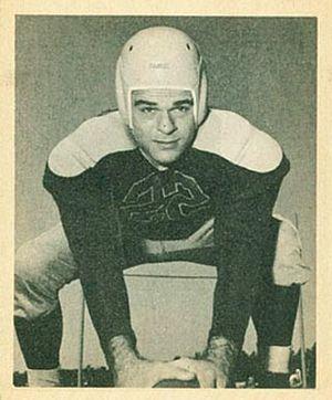 Jay Rhodemyre - Rhodemyre on a 1948 Bowman football card