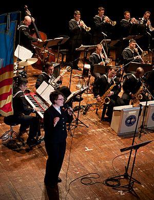 Navy Music Program - Image: Jazz Diplomats 2014